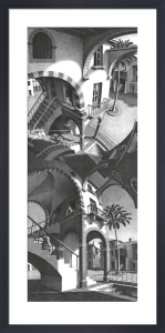 Up & Down by M.C. Escher