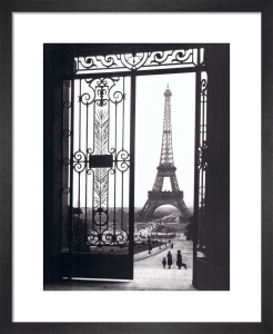 Eiffel Tower from the Trocadero by Gall
