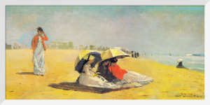 East Hampton Beach by Winslow Homer