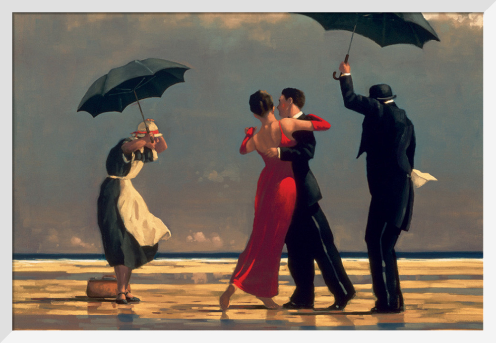 Keats Jack Vettriano /'The Singing Butler/' Framed or Mounted Art Print NEW