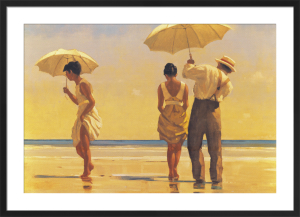 Mad Dogs by Jack Vettriano