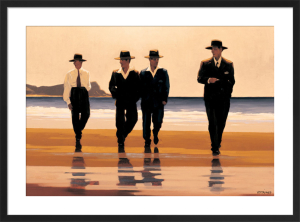 The Billy Boys by Jack Vettriano
