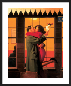 Back Where You Belong by Jack Vettriano