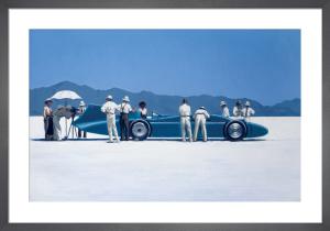 Bluebird at Bonneville by Jack Vettriano
