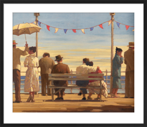 The Pier by Jack Vettriano