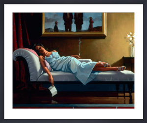 The Letter by Jack Vettriano
