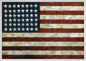 Flag 1954 by Jasper Johns
