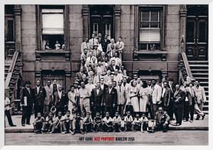 Jazz Portrait - Harlem, 1958 by Kane
