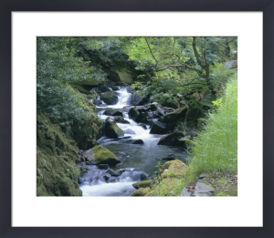 Mountain Stream - Snowdonia by Richard Osbourne