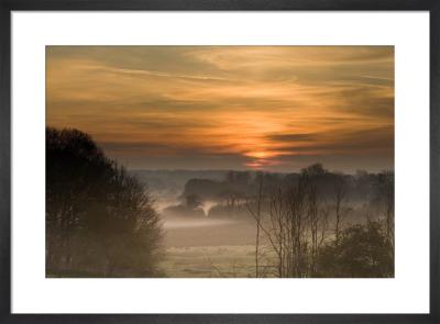 Norfolk Sunrise by Richard Osbourne