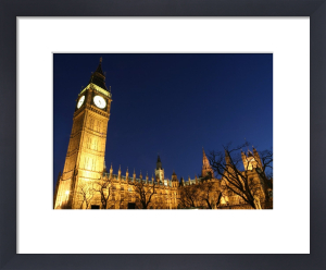 London - Houses Of Parliament I by Richard Osbourne