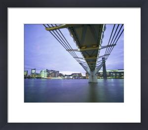 London - Millennium Bridge II by Richard Osbourne