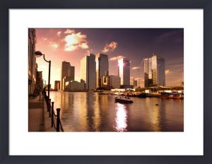 Canary Wharf - I by Richard Osbourne