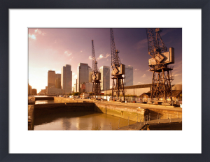 London Docklands And Canary Wharf by Richard Osbourne