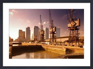 London Docklands And Canary Wharf by Richard Osbourne