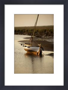 Sailing Boat - Blakeney by Richard Osbourne