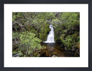 Scottish Waterfall I by Richard Osbourne