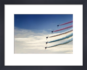Red Arrows I by Richard Osbourne