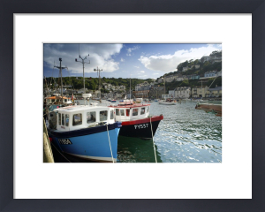 Fishing Boats - Cornwall by Richard Osbourne