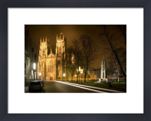 York Minster At Night by Richard Osbourne