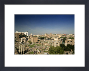 Ancient Roman Forum - Rome by Richard Osbourne