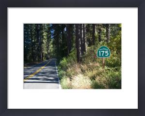 Highway 175 - California by Richard Osbourne