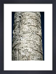 Column of Marcus Aurelius - Rome by Richard Osbourne