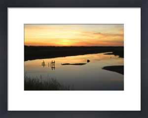 Titchwell Sunrise by Richard Osbourne