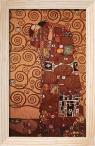 Fulfillment by Gustav Klimt