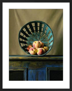 White Peaches by Ken Marlow