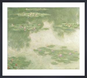 Waterlilies, Water Landscape,1907 by Claude Monet