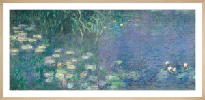 Waterlilies: Morning by Claude Monet