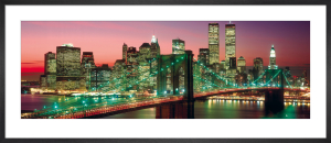New York - Manhattan Colour (Berenholtz) by Anonymous