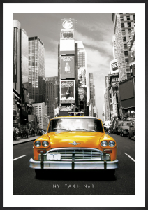 New York - Taxi no 1 by Anonymous