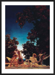 The Lute Players by Maxfield Parrish