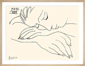 War And Peace (Silkscreen print) by Pablo Picasso
