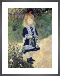 Girl with a Watering Can by Pierre Auguste Renoir