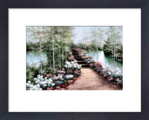 Bridge of Flowers by Diane Romanello