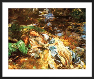 The Brook by John Singer Sargent
