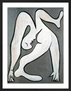 The acrobat, 1930 (Silkscreen print) by Pablo Picasso
