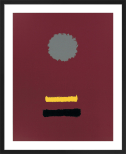 Untitled, 1969 (Silkscreen print) by Adolph Gottlieb
