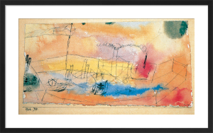 The Fish in the Harbour by Paul Klee