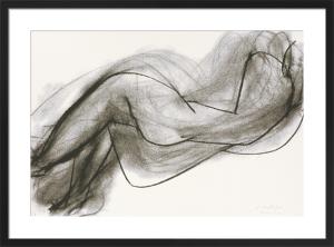 Nu couche de dos, 1944 (Silkscreen print) by Henri Matisse