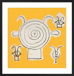 Tete de faune en Grisaille (Silkscreen print) by Pablo Picasso