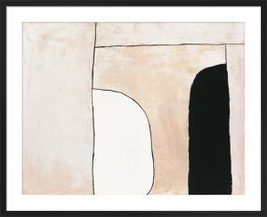 Way in, 1963 (Silkscreen print) by William Scott