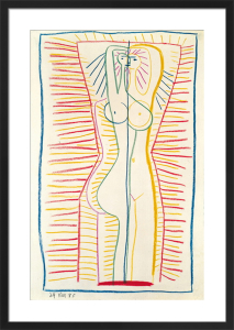 Standing Female Nude II, 1946 by Pablo Picasso