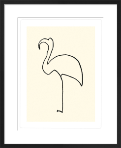 Le flamand rose (Silkscreen print) by Pablo Picasso