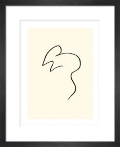 La souris (Silkscreen print) by Pablo Picasso