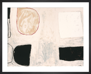 Shapes and shadows, 1962 (Silkscreen print) by William Scott