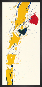 Untitled 1985 by Sam Francis